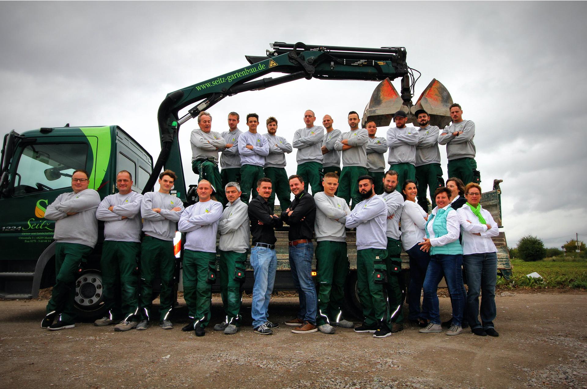 Wir stellen uns vor - Unser Team für Ihren Garten