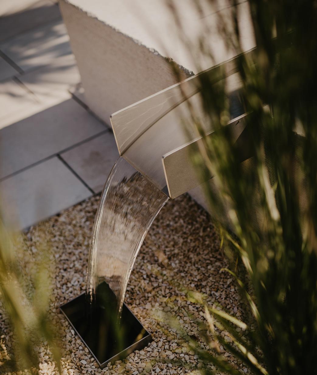 Leistungen - Wasser im Garten