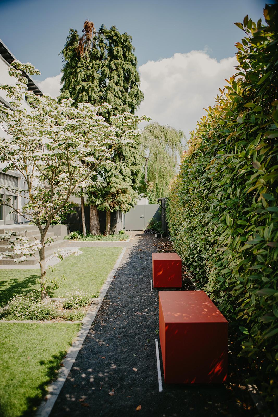 Projektbeispiel Gartenneugestaltung in Mannheim